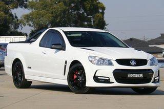 2017 Holden Ute VF II MY17 SS V Ute Redline Heron White 6 Speed Sports Automatic Utility.