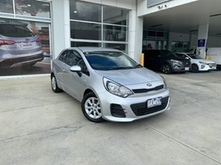 2014 Kia Rio UB MY16 S Silver 4 Speed Sports Automatic Hatchback.