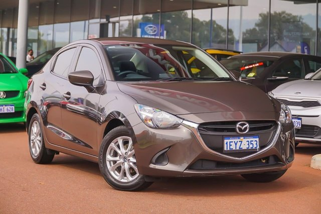 Used Mazda 2 DL2SAA Maxx SKYACTIV-Drive Gosnells, 2015 Mazda 2 DL2SAA Maxx SKYACTIV-Drive Silver 6 Speed Sports Automatic Sedan