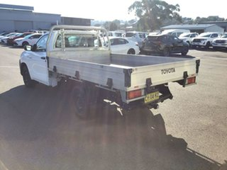 2016 Toyota Hilux GUN122R Workmate 4x2 Glacier White 5 Speed Manual Cab Chassis