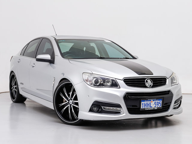 Used Holden Commodore VF SS-V, 2013 Holden Commodore VF SS-V Silver 6 Speed Automatic Sedan