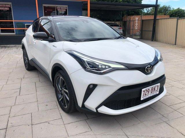 Used Toyota C-HR NGX10R Koba S-CVT 2WD Mundingburra, 2020 Toyota C-HR NGX10R Koba S-CVT 2WD White 7 Speed Constant Variable Wagon