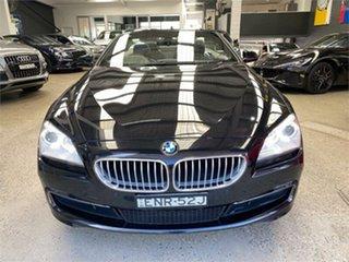2013 BMW 650i F12 650i Black Sports Automatic Convertible