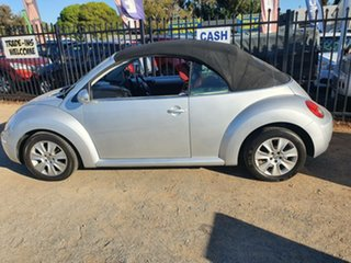 2011 Volkswagen Beetle 1Y MY2010 Silver 6 Speed Sports Automatic Cabriolet