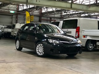 2010 Subaru Impreza G3 MY11 R AWD Black/Grey 4 Speed Sports Automatic Hatchback.