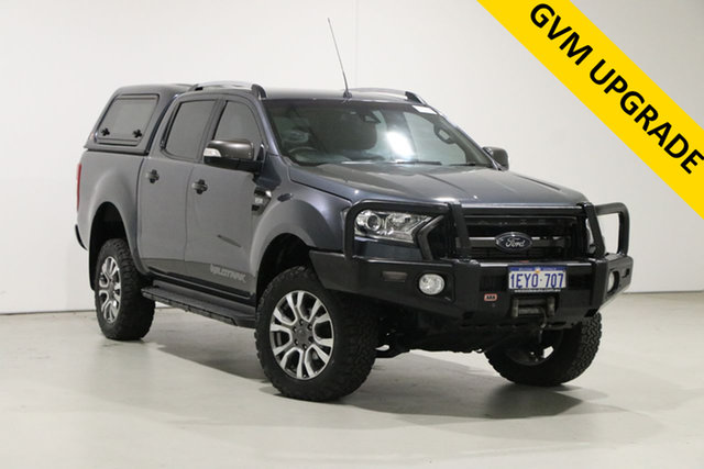 Used Ford Ranger PX MkII Wildtrak 3.2 (4x4) Bentley, 2016 Ford Ranger PX MkII Wildtrak 3.2 (4x4) Grey 6 Speed Manual Dual Cab Pick-up
