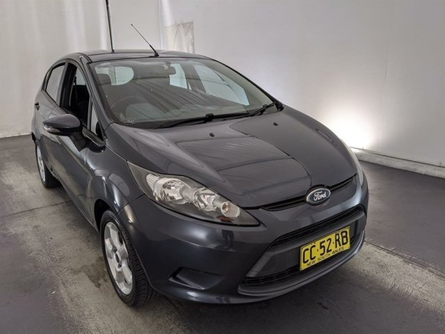 Used Ford Fiesta WS CL Maryville, 2010 Ford Fiesta WS CL Grey 4 Speed Automatic Hatchback