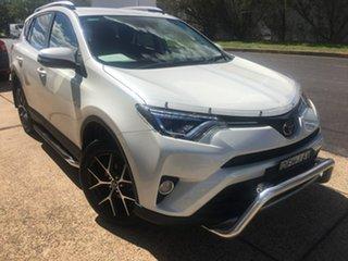 2016 Toyota RAV4 ZSA42R GXL White Constant Variable.
