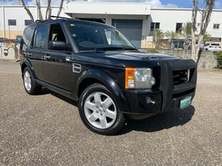 2008 Land Rover Discovery 3 MY06 Upgrade HSE Black 6 Speed Automatic Wagon.