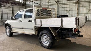 2004 Holden Rodeo RA LX Crew Cab White 5 Speed Manual Utility