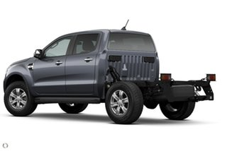 2021 Ford Ranger PX MkIII 2021.25MY XLT Double Cab Grey 6 Speed Sports Automatic Double Cab Chassis.