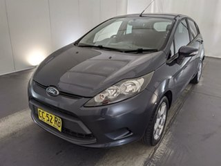 2010 Ford Fiesta WS CL Grey 4 Speed Automatic Hatchback.
