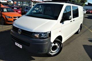 2013 Volkswagen Transporter T5 MY13 TDI400 LWB DSG White 7 Speed Sports Automatic Dual Clutch Van.