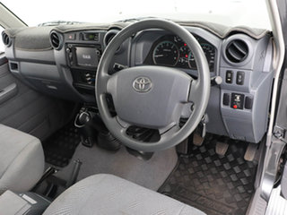 2014 Toyota Landcruiser VDJ79R MY12 Update GXL (4x4) Grey 5 Speed Manual Double Cab Chassis