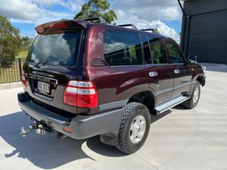 2004 Toyota Landcruiser UZJ100R GXL Red 5 Speed Automatic Wagon