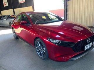 2019 Mazda 3 BP G20 Evolve Red 6 Speed Automatic Sedan.