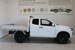 2018 Isuzu D-MAX MY18 SX Space Cab White 6 Speed Manual Cab Chassis.