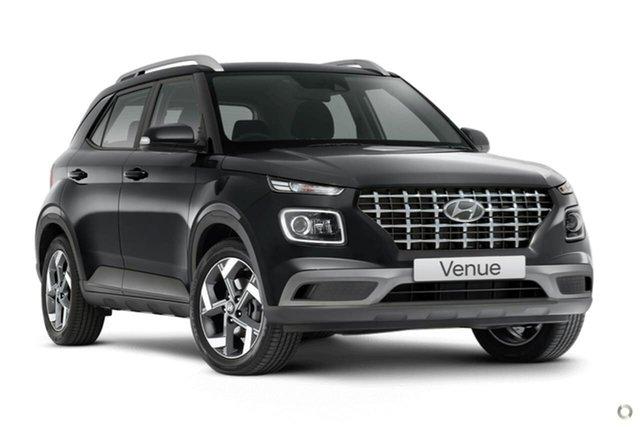 New Hyundai Venue QX.V3 MY21 Elite Oakleigh, 2021 Hyundai Venue QX.V3 MY21 Elite Grey 6 Speed Automatic Wagon