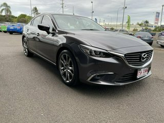 2017 Mazda 6 GL1031 GT SKYACTIV-Drive Grey 6 Speed Sports Automatic Sedan