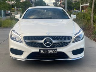 2016 Mercedes-Benz CLS-Class C218 807MY CLS500 Coupe 9G-Tronic PLUS White 9 Speed Sports Automatic