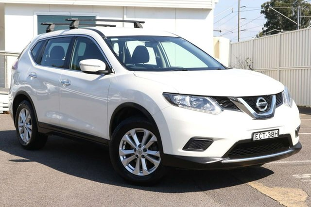 Used Nissan X-Trail T32 ST X-tronic 4WD N-TREK North Gosford, 2015 Nissan X-Trail T32 ST X-tronic 4WD N-TREK White 7 Speed Constant Variable Wagon