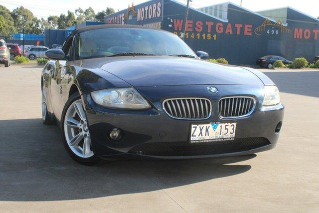 Used BMW Z4 E85 3.0I West Footscray, 2005 BMW Z4 E85 3.0I 5 Speed Auto Steptronic Roadster