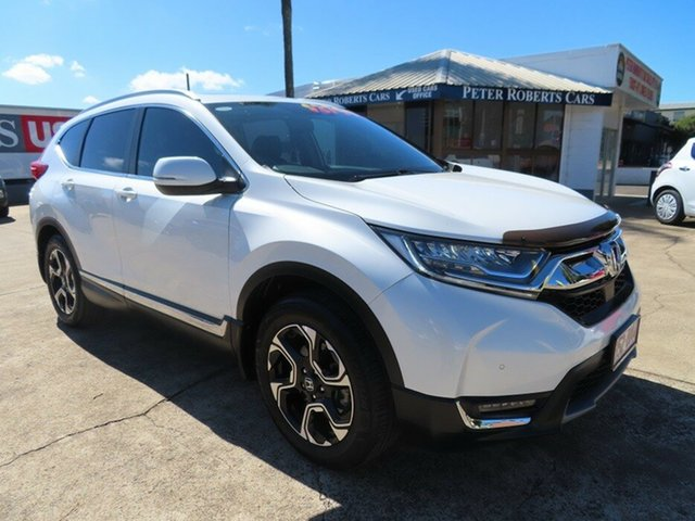 Used Honda CR-V MY18 VTi-LX (AWD) Toowoomba, 2018 Honda CR-V MY18 VTi-LX (AWD) White Continuous Variable Wagon