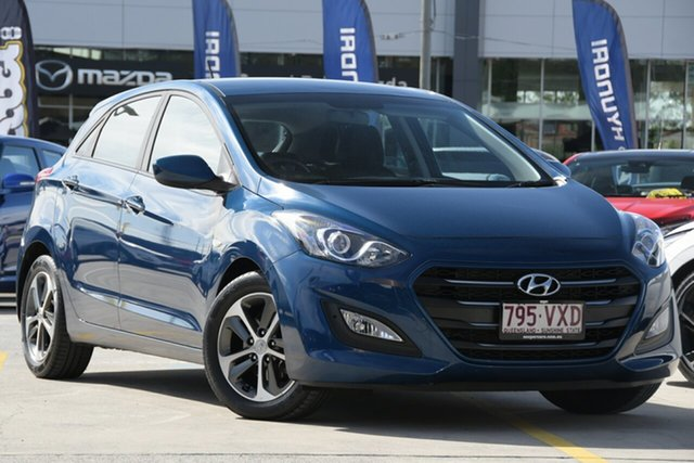 Used Hyundai i30 GD3 Series II MY16 Active Aspley, 2015 Hyundai i30 GD3 Series II MY16 Active Blue 6 Speed Sports Automatic Hatchback
