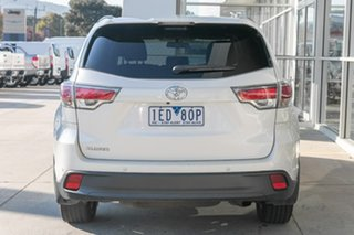 2015 Toyota Kluger GSU50R GXL 2WD White 6 Speed Sports Automatic Wagon