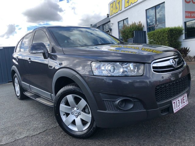 Used Holden Captiva CG MY13 7 SX Slacks Creek, 2013 Holden Captiva CG MY13 7 SX Grey 6 Speed Sports Automatic Wagon