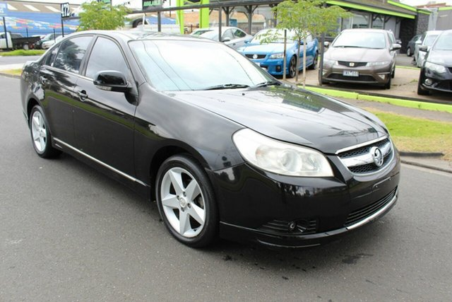 Used Holden Epica EP MY08 CDXi West Footscray, 2007 Holden Epica EP MY08 CDXi Black 5 Speed Automatic Sedan