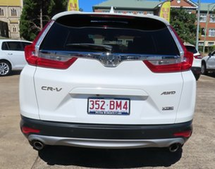2018 Honda CR-V MY18 VTi-LX (AWD) White Continuous Variable Wagon