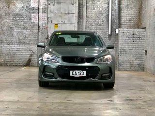 2015 Holden Commodore VF II MY16 SV6 Grey 6 Speed Sports Automatic Sedan.