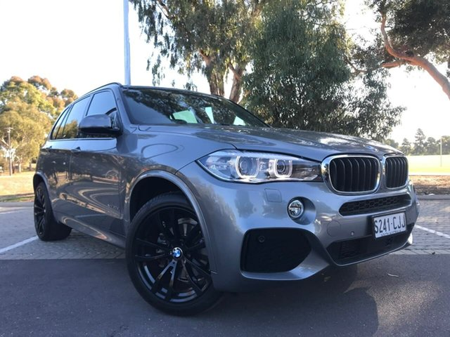 Used BMW X5 F15 xDrive30d Adelaide, 2017 BMW X5 F15 xDrive30d Grey 8 Speed Sports Automatic Wagon