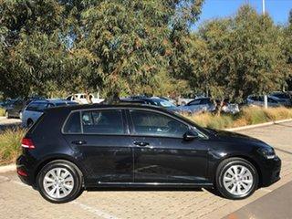 2017 Volkswagen Golf VII MY17 92TSI DSG Trendline Black 7 Speed Sports Automatic Dual Clutch.