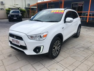 2016 Mitsubishi ASX XB MY15.5 LS 2WD White 6 Speed Constant Variable Wagon.