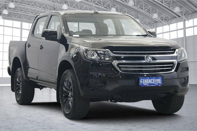 Used Holden Colorado RG MY19 LS Crew Cab Victoria Park, 2018 Holden Colorado RG MY19 LS Crew Cab Black 6 Speed Sports Automatic Cab Chassis