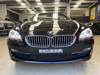 2013 BMW 650i F12 650i Black Sports Automatic Convertible.