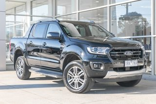 2020 Ford Ranger PX MkIII 2020.75MY Wildtrak Black 6 Speed Sports Automatic Double Cab Pick Up.