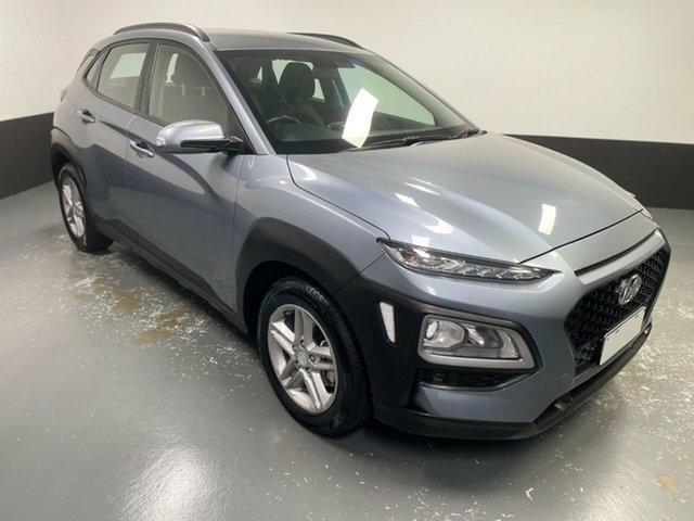 Used Hyundai Kona OS.2 MY19 Active 2WD Hamilton, 2019 Hyundai Kona OS.2 MY19 Active 2WD Silver 6 Speed Sports Automatic Wagon