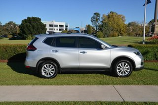 2018 Nissan X-Trail T32 Series 2 ST (2WD) Silver Continuous Variable Wagon.