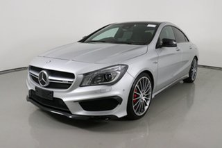2016 Mercedes-AMG CLA45 117 MY16 4Matic Silver 7 Speed Automatic Coupe.