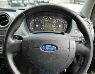 2007 Ford Fiesta WQ LX Black 5 Speed Manual Hatchback