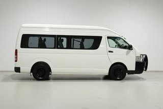 2011 Toyota HiAce KDH223R MY11 Upgrade Commuter White 4 Speed Automatic Bus