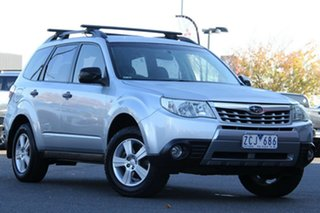 2012 Subaru Forester S3 MY12 X AWD Silver, Chrome 4 Speed Sports Automatic Wagon.