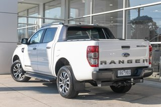 2019 Ford Ranger PX MkIII 2019.00MY Wildtrak White 6 Speed Manual Double Cab Pick Up