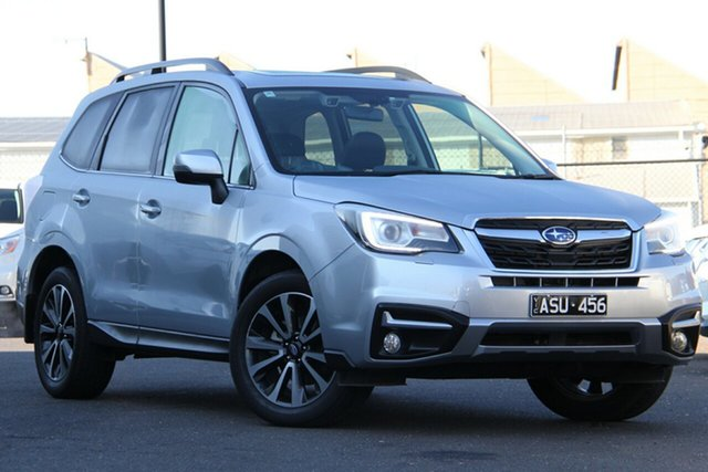 Used Subaru Forester S4 MY17 2.5i-S CVT AWD Essendon Fields, 2017 Subaru Forester S4 MY17 2.5i-S CVT AWD Silver, Chrome 6 Speed Constant Variable Wagon