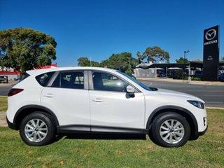 2016 Mazda CX-5 KE1022 Maxx SKYACTIV-Drive i-ACTIV AWD Sport White 6 Speed Sports Automatic Wagon.