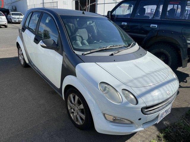 Used Smart ForFour 454 Pulse Traralgon, 2005 Smart ForFour 454 Pulse Pearl White 6 Speed Auto Sequential Hatchback