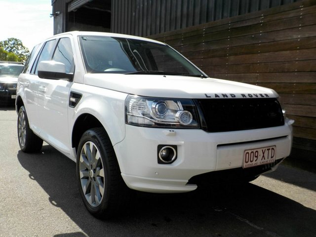 Used Land Rover Freelander 2 LF MY14 SD4 CommandShift HSE Labrador, 2013 Land Rover Freelander 2 LF MY14 SD4 CommandShift HSE White 6 Speed Sports Automatic Wagon